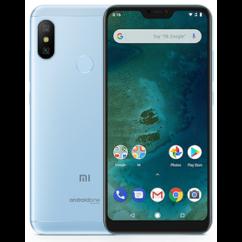 Mobiltelefon, Xiaomi MI A2 Lite 64GB DualSim, Kártyafüggetlen, 1 év garancia, kék