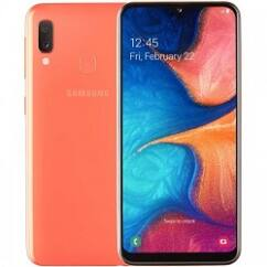 Samsung A202 Galaxy A20E 32GB DualSIM, (Kártyafüggetlen 1 év garancia), Mobiltelefon, koral