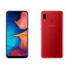 Samsung A205F Galaxy A20 32GB DualSIM, (Kártyafüggetlen 1 év garancia), Mobiltelefon, piros