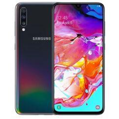 Samsung A705 Galaxy A70 128GB DualSIM, (Kártyafüggetlen 1 év garancia), Mobiltelefon, fekete