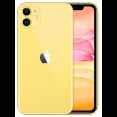 Mobiltelefon, Apple iPhone 11 128GB 6.1, Kártyafüggetlen, 1év garancia, sárga
