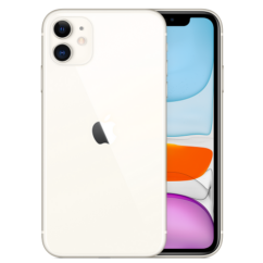 Apple iPhone 11 256GB 6.1, Mobiltelefon, fehér