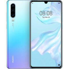 Huawei P30 128GB DualSIM, (Kártyafüggetlen 1 év garancia), Mobiltelefon, jégkristály kék