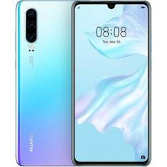 Huawei P30 128GB 6GB RAM DualSIM, (Kártyafüggetlen 1 év garancia), Mobiltelefon, jégkristály kék