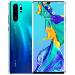 Huawei P30 Pro 128GB DualSIM, (Kártyafüggetlen 1 év garancia), Mobiltelefon, aurora kék