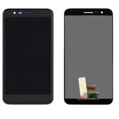 LG K10 2018 LMX410, LCD kijelző érintőplexivel, fekete