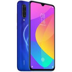 Xiaomi MI 9 Lite 128GB DualSIM, (Kártyafüggetlen 1 év garancia), Mobiltelefon, aurora kék