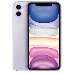 Apple iPhone 11 128GB 6.1, (Kártyafüggetlen 1 év garancia), Mobiltelefon, lila