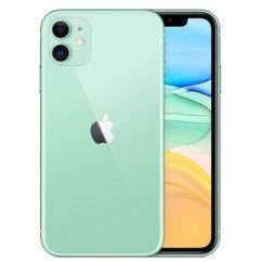 Apple iPhone 11 256GB 6.1, (Kártyafüggetlen 1 év garancia), Mobiltelefon, zöld