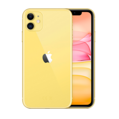 Apple iPhone 11 64GB 6.1, (Kártyafüggetlen 1 év garancia), Mobiltelefon, sárga