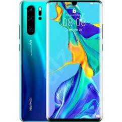 Huawei P30 Pro 256GB DualSIM, (Kártyafüggetlen 1 év garancia), Mobiltelefon, aurora kék