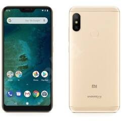 Xiaomi Mi A2 Lite 64GB DualSIM, (Kártyafüggetlen 1 év garancia), Mobiltelefon, arany