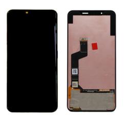 LG K50 LMX520, LCD kijelző érintőplexivel, fekete