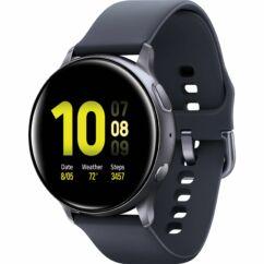 Samsung R820 Galaxy Watch Active 2 44mm (Aluminium), Okosóra, fekete