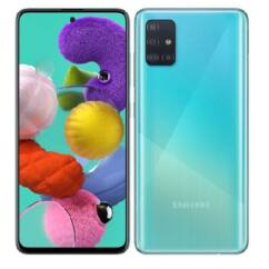 Samsung A515 Galaxy A51 128GB 4GB RAM DualSIM, Mobiltelefon, kék