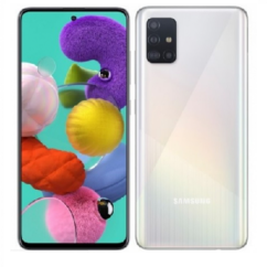 Samsung A515 Galaxy A51 128GB 4GB RAM DualSIM, Mobiltelefon, fehér