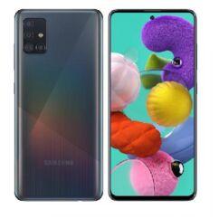 Samsung A515 Galaxy A51 128GB 4GB Ram DualSIM, (Kártyafüggetlen 1 év garancia), Mobiltelefon, fekete