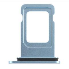 Apple iPhone XR, SIM tartó, kék