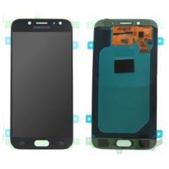 Samsung J530 Galaxy J5 2017, LCD kijelző érintőplexivel, (gyári), fekete