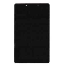 Samsung T290, T295 Galaxy Tab A 8.0, LCD kijelző érintőplexivel, fekete
