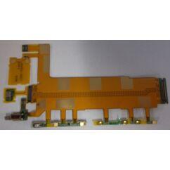 Sony Xperia Z3 D6616, Átvezető szalagkábel (Flex), (hangerőállító gomb)