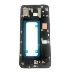 Samsung J610/J415 Galaxy J6 Plus/J4 Plus, LCD keret, fekete