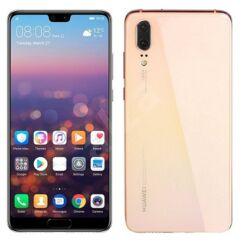 Huawei P20 128GB 4GB Ram SingleSIM, (Kártyafüggetlen 1 év garancia), Mobiltelefon, pink-gold