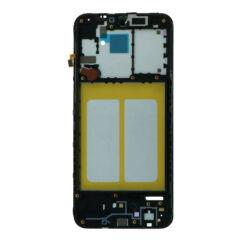 Samsung A202 Galaxy A20E, Középső keret, fekete
