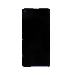 Samsung A217 Galaxy A21S, LCD kijelző érintőplexivel, fekete