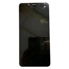 LG K20 2019 LMX-120, LCD kijelző érintőplexivel és előlappal, fekete