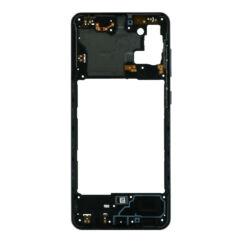 Samsung A315 Galaxy A31, Középső keret, fekete
