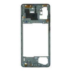 Samsung A715 Galaxy A71, Középső keret, ezüst