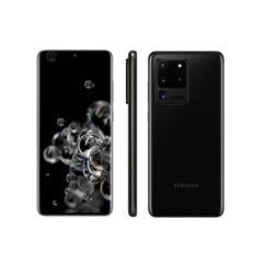 Samsung G988 Galaxy S20 Ultra 5G 128GB 12GB RAM DualSIM, Mobiltelefon, fekete