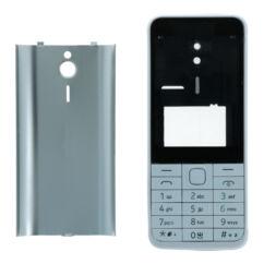 Nokia 230, Előlap, (komplett ház), ezüst