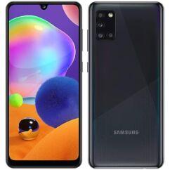 Samsung A315G Galaxy A31 128 4GB RAM DualSIM, (Kártyafüggetlen 1 év garancia), Mobiltelefon, fekete