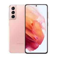Samsung G991B Galaxy S21 128GB 8GB RAM 5G DualSIM, (Kártyafüggetlen 1 év garancia), Mobiltelefon, rózsaszín