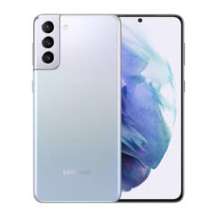 Samsung G996B Galaxy S21 Plus 256GB 8GB RAM 5G DualSIM, (Kártyafüggetlen 1 év garancia), Mobiltelefon, ezüst