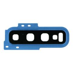 Samsung G973 Galaxy S10, Kamera plexi kerettel, (hátlapi), kék