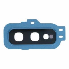 Samsung G970 Galaxy S10E, Kamera plexi kerettel, (hátlapi), kék