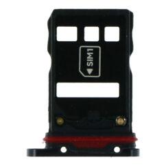 Huawei P30 Pro DualSIM, SIM tartó, fekete