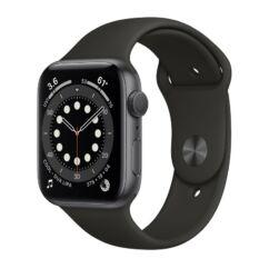 Apple Watch S6 44mm Sport (A2292), Okosóra, szürke-fekete