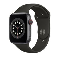 Apple Watch S6 40mm Sport, Okosóra, szürke-fekete