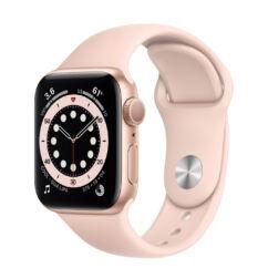 Apple Watch S6 40mm Sport (A2292), Okosóra, arany-rózsaszín