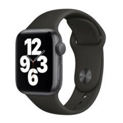 Apple Watch SE 44mm Sport, Okosóra, szürke-fekete
