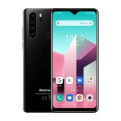 Blackview A80 Plus 64GB 4GB RAM DualSIM, Mobiltelefon, fekete
