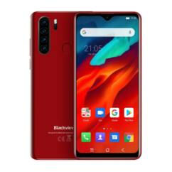 Blackview A80 Plus 64GB 4GB RAM DualSIM, Mobiltelefon, piros
