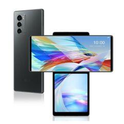 LG F100 Wing 128GB 8GB RAM DualSIM 5G, Mobiltelefon, szürke