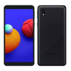 Samsung A013G Galaxy A01 Core 16GB 1GB RAM DualSIM, Mobiltelefon, fekete