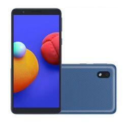 Samsung A013G Galaxy A01 Core 16GB 1GB RAM DualSIM, Mobiltelefon, kék