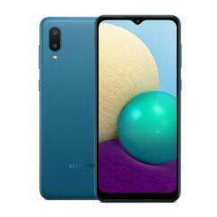 Samsung A022F Galaxy A02 32GB 2GB RAM DualSIM, Mobiltelefon, kék